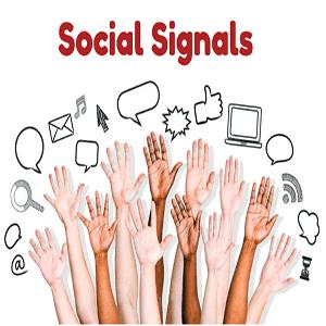 ما هي social signals