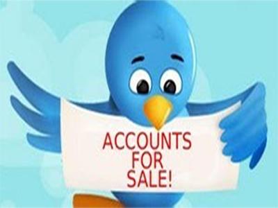 حسابات تويتر للبيع
